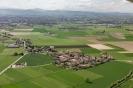 Vedute aeree della frazione Torremenapace nel Comune di Voghera