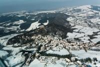 Veduta aerea di Zavattarello