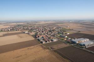 Veduta aerea di Albuzzano