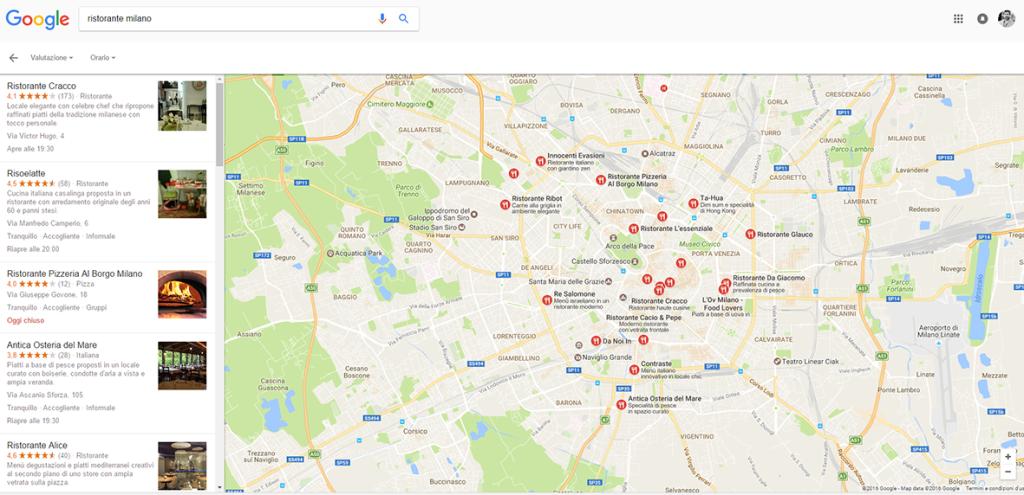 Google Maps, pagine MyBusiness