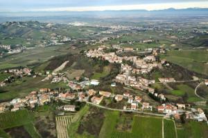 Foto aerea di Montu Beccaria