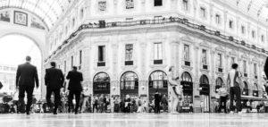 arredo hotel Milano galleria Vittorio Emanuele milano