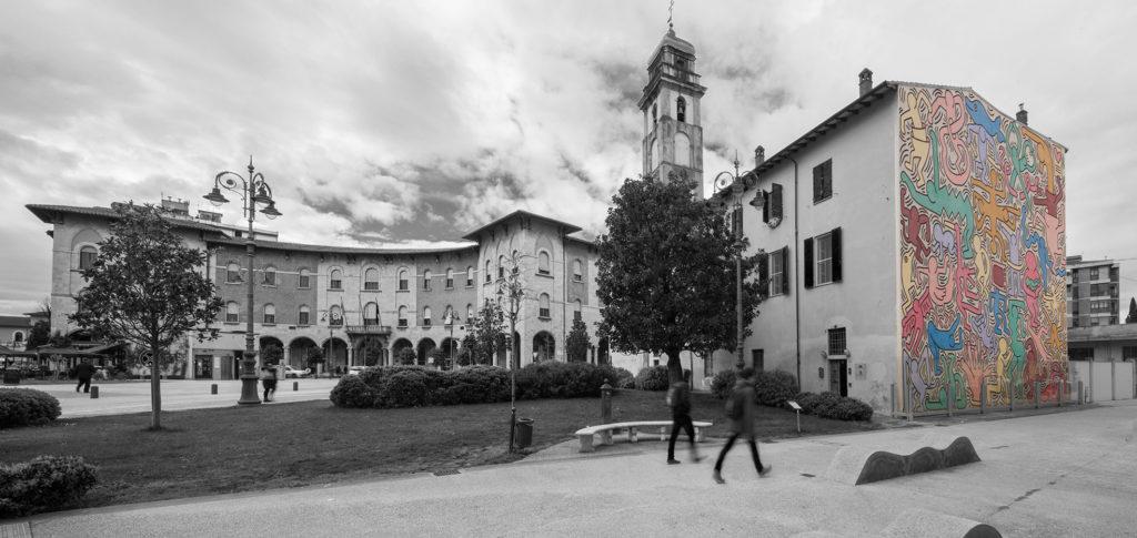 arredo hotel tuttomondo keith haring Pisa