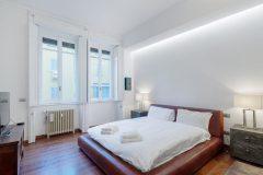 Servizio fotografico realizzato ad un appartamento di Milano da proporre su Aribnb