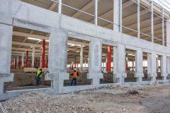 Servizio fotografico presso il cantiere di Casirate d\'Adda (BG). General Contractor Eng2k per Amazon