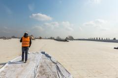 Servizio fotografico presso il cantiere di Casirate d'Adda (BG). General Contractor Eng2k per Amazon
