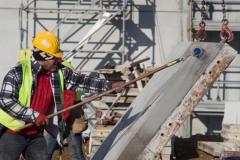 Servizio fotografico presso il cantiere di Torrazza (TO). General Contractor Eng2k per Amazon