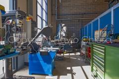 Fotografie di interni stabilimento Moto Morini - Trivolzio