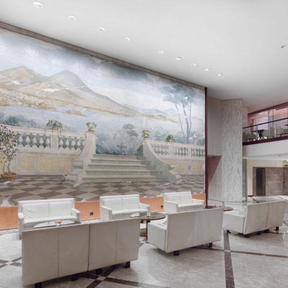 Ingresso hotel Ambassador Napoli