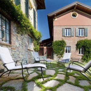 giardino immobile di pregio nel Monferrato in Piemonte