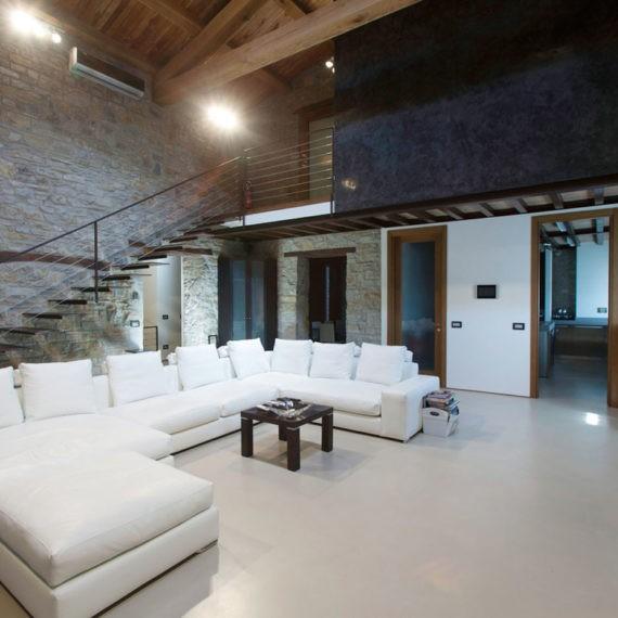salotto villa real estate reggio emilia