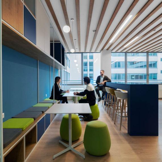 progetto di interior design uffici in Milano