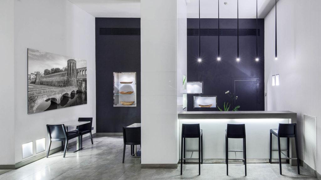 Interior design interni in hotel