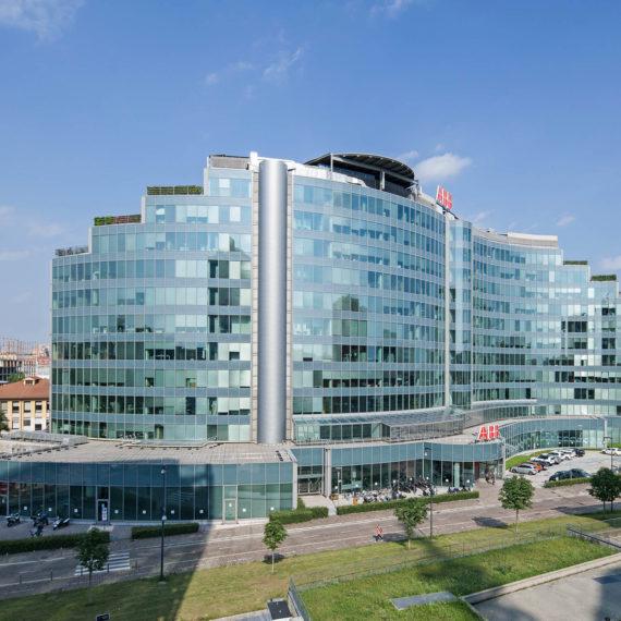 fotografo architettura Milano palazzo ABB