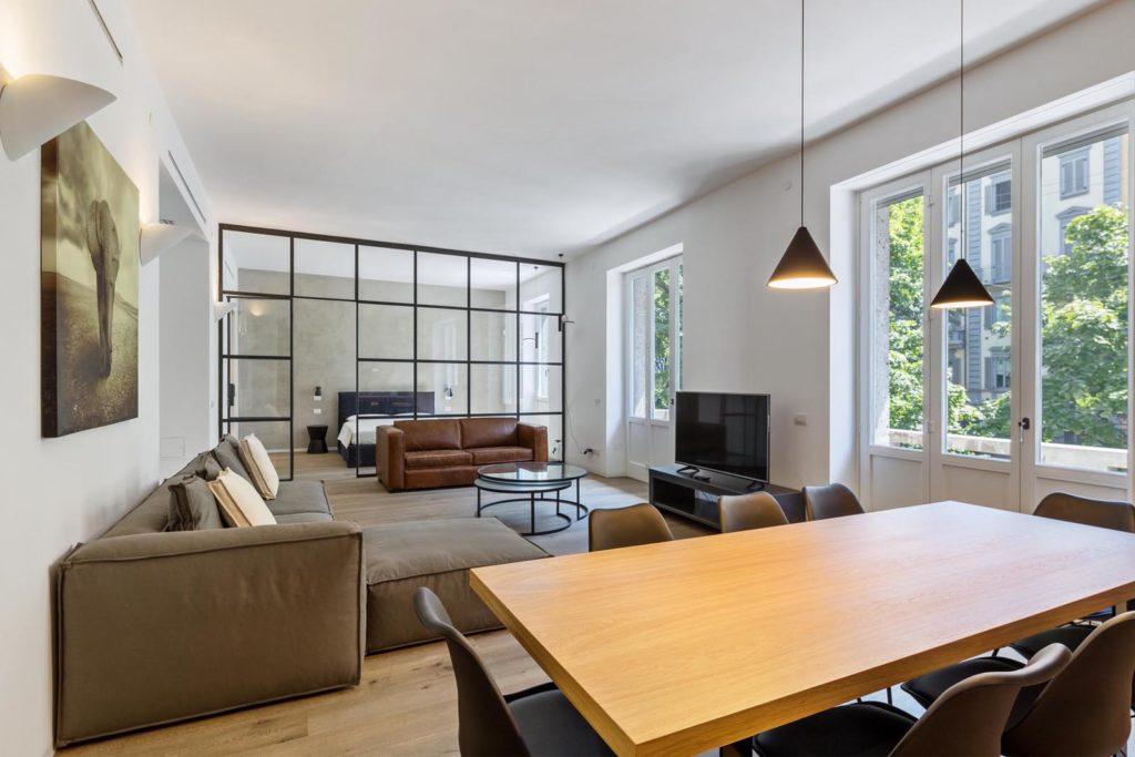 appartamento di milano proposto su airbnb