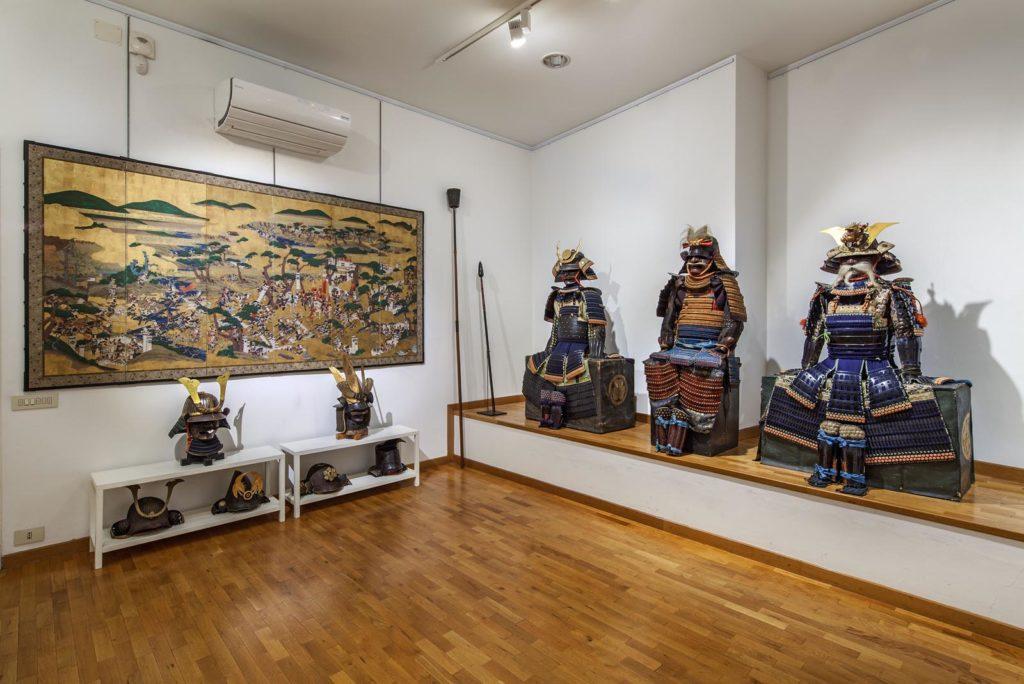 fotografie di interni galleria di arte giapponese