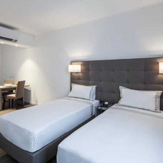 fotografo hotel Milano studio Inn, la camera