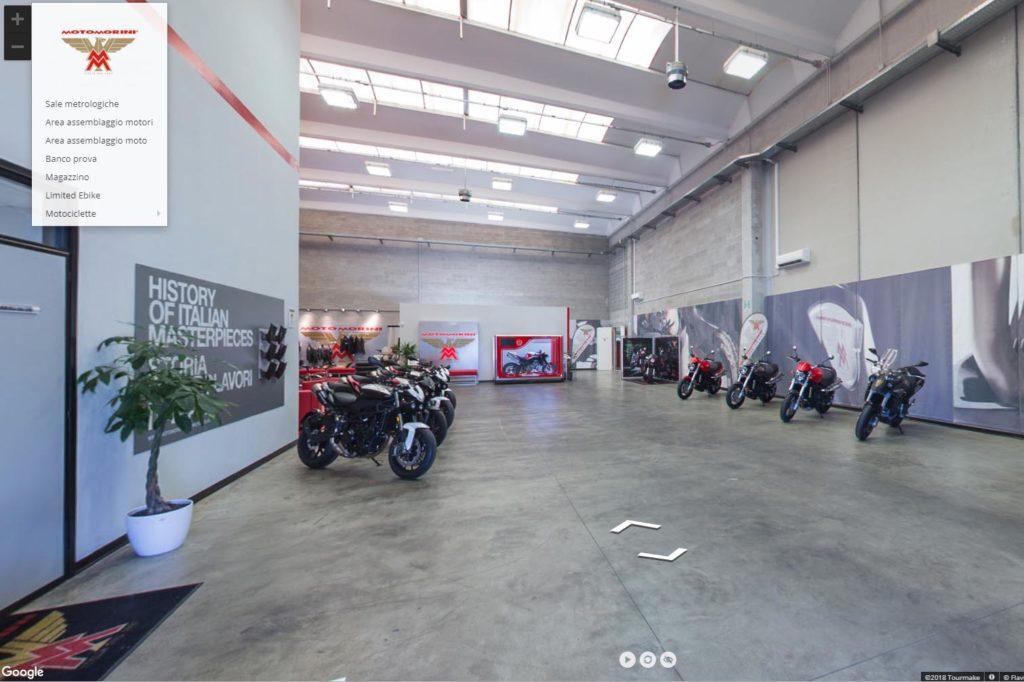 tour virtuale Moto Morini