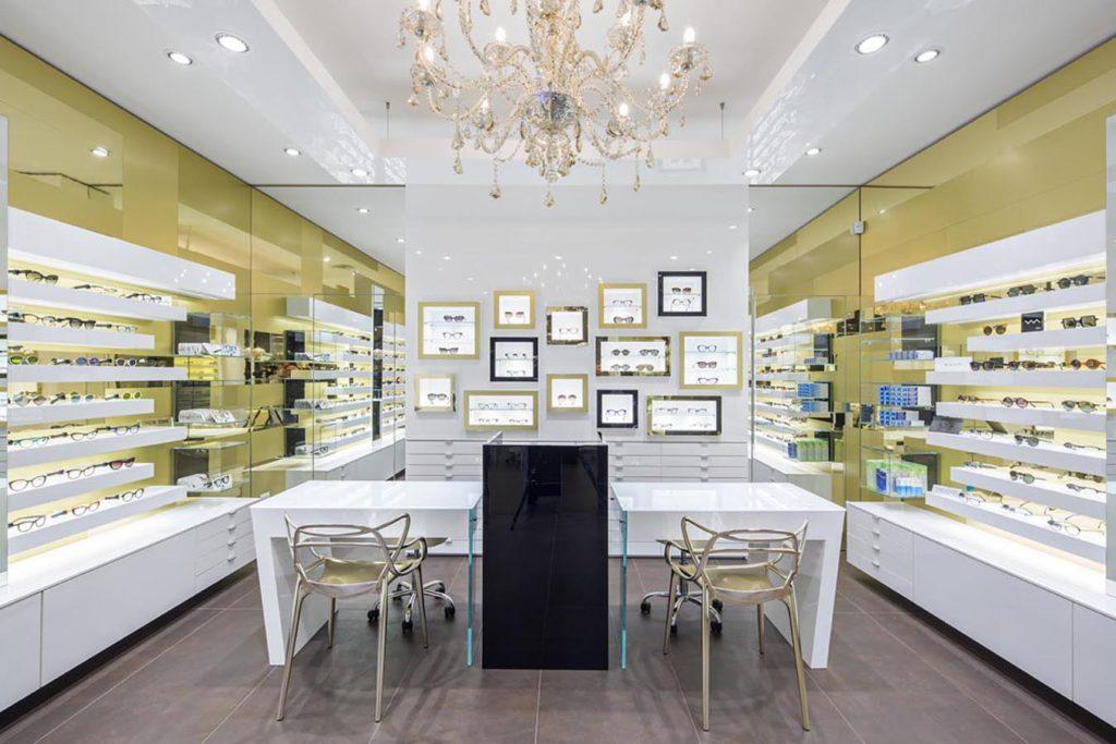 Fotografie di interni negozio ristrutturato, progetto Arketipodesign