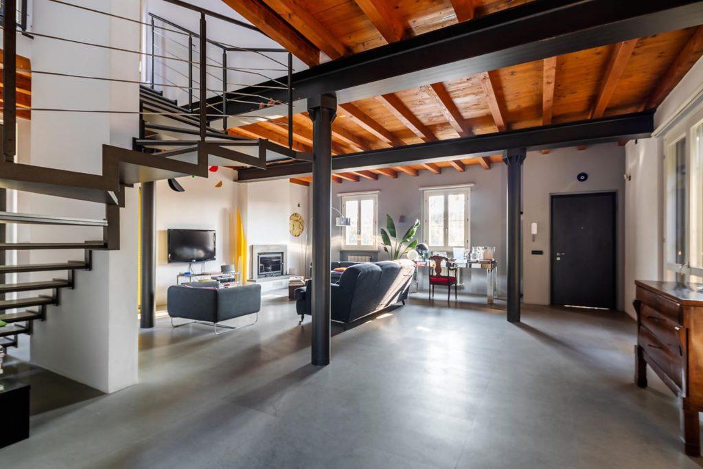 fotografo di interni Pavia villa in vendita