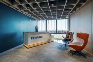 foto di interni uffici Ferring Milano