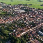 Riprese aeree del Comune di Cassolnovo in provincia di Pavia