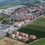 Riprese aeree realizzate con aeroplano di Casorate Primo in provincia di Pavia