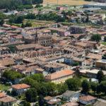 Riprese aeree con aeroplano di Casei Gerola in Lombardia