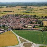 Riprese-aeree-Sartirana Lomellina-provincia-di-Pavia