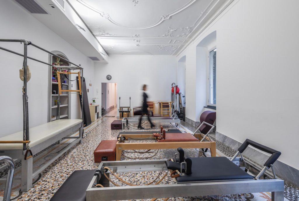fotografo-di-interni-Genova-centro-pilates-yoga-Citymed-APS